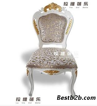 欧式雕花实木椅 上海欧式家具定做