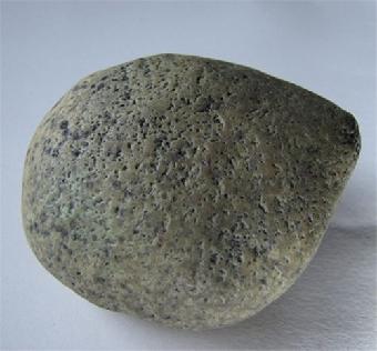 美国陨石博物馆夜明珠图片_