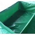 折疊帆布魚池 加厚帆布水池 大型刀刮布錦鯉魚池