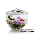 陶瓷儲米桶30斤裝 家用儲物罐 密封油缸工廠