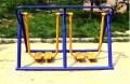 長春廣場健身器材雙人漫步機