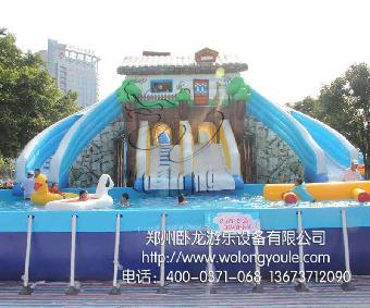 大型移动支架水池 游泳池厂家报价