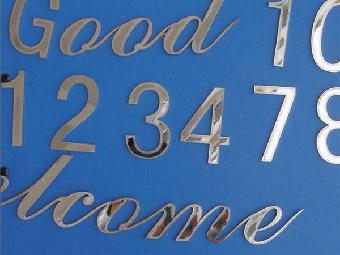 宝安激光切割logo字母字体数字公司招牌
