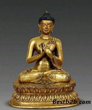 木雕居多;明清佛像则以铜或铜鎏金铜佛为主.