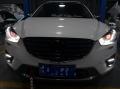 马自达CX5车灯升级红色恶魔眼 成为最亮的仔