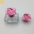 冠鋮鑫創意玫瑰花香水蓋 噴霧款化妝品金屬蓋 定制