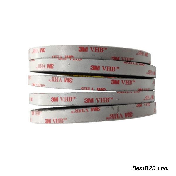 供应3M4930VHB高贴服性双面胶带模切定制