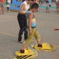 趣味運動會器材 腳踏實地 疊加大腳掌 戶外訓練拓展