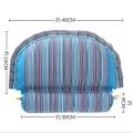 南陽艾絨保健頸椎理療組合枕 艾灸理療枕艾草艾桿枕