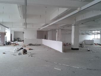 上海工业区厂房车间装修丨上海工业区办公室隔墙吊顶装