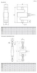CAS稱重傳感器LSB-20T