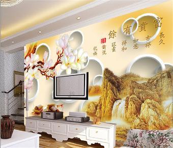 兰州艺术玻璃背景墙喷绘机
