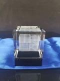消防大隊水晶禮品定做,建筑模型水晶內雕,免費刻字