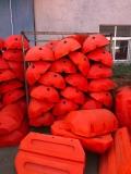 阻擋河面浮萍水草攔垃圾浮筒