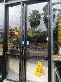 龙岗中心城研究所门禁恢复出厂设置 玻璃门掉落维修