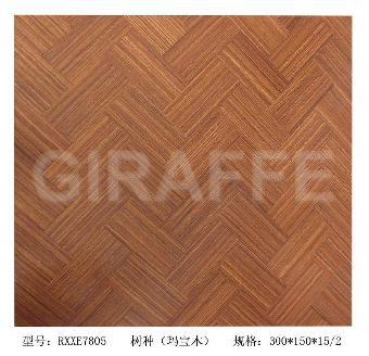 供应长颈鹿地板人字拼rxxe7805玛宝木