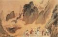 趙伯駒字畫的特征與鑒定