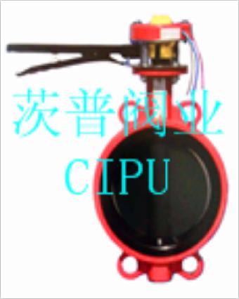 消防信号蝶阀xd71x-16q图片