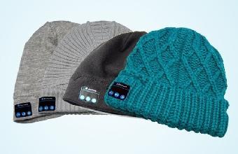 蓝牙穿戴 蓝牙帽子 保暖针织蓝牙耳机 接电话听音乐