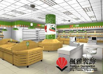 合肥小型超市裝修,便利店裝修,小商品店裝修