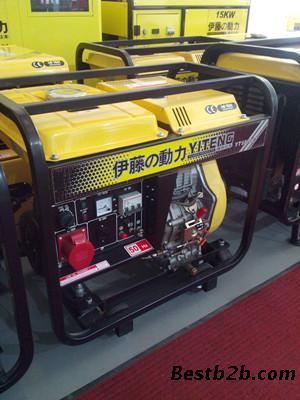 便携式柴油发电机 yt6800e3伊藤移动发电机