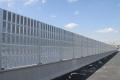 供應合肥高速隔音板聲屏障金屬百葉鍍鋅板聲屏障