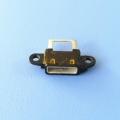AB型方口USB 2.0 6P防水母座 3PIN