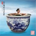 1米2浴缸 陶瓷浴缸 日式深泡浴缸 溫泉浴缸 陶瓷