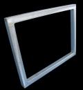 精密制版丝印铝合金网框 代客绷网网框价格