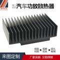 珠三角铝合金散热器定制 智高来图定做五金冲压散热器