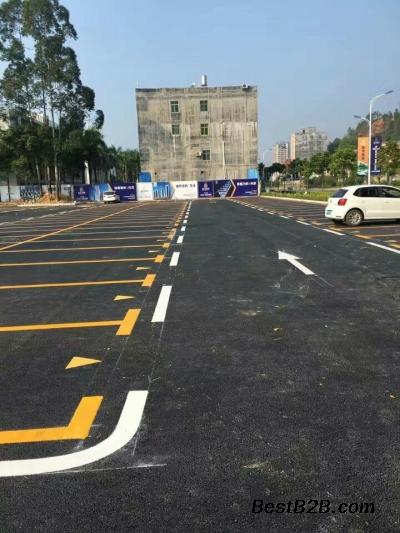 揭阳榕城停车位划线,榕城车位划线价格