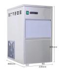 長沙巴躍實驗室專用全自動雪花制冰機價格FMB-25