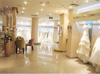 婚纱影楼装修设计,婚礼策划机构装修