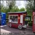 街區特色小商品售貨亭 售貨車設計制作