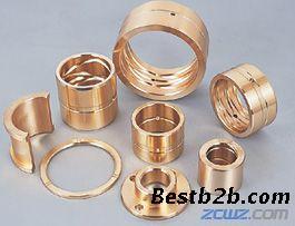 RCB-600 油沟铜套 铜合金衬套 黄铜衬套