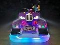夜市摆摊发光电瓶碰碰车坦克款式新颖有人气