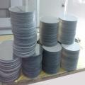 供應淺灰色pvc塑料板加工