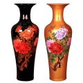 手繪青花瓷清明上河圖落地大花瓶