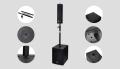 陣列柱形音柱QC-4.3會議音柱無紙化會議音頻系統