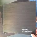 青古銅做舊花紋板廠家 304不銹鋼水鍍拉絲青銅金板