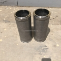不銹鋼縫焊接圓形濾筒、編織網過濾網筒 微型過濾網