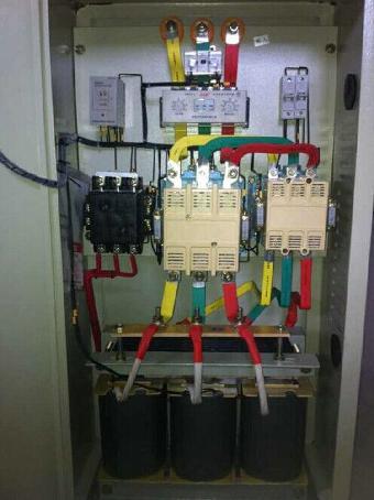 破碎机自偶减压启动柜 300kw降压起动控制柜