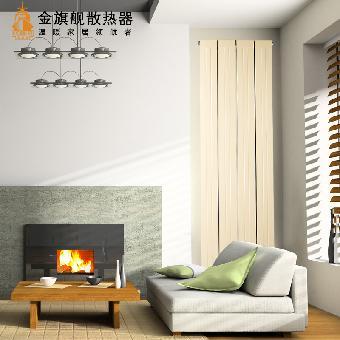 楼房暖气片装修效果图 暖气片安装 金旗舰暖气片