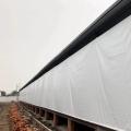 養殖場卷簾布白色透光豬場卷簾布
