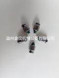 不銹鋼快換管接頭KQG外螺紋直通粉塵環境可用進口技