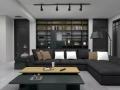 瑪緹瓷磚案例分享,白領鐘愛的現代簡約,武漢家居空間
