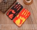 哪吒創意熱感手機殼蘋果6貼皮手機套ip7感溫保護套