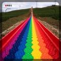 彩虹滑道 七彩滑道 彩虹滑道標準 大型戶外陸地游樂