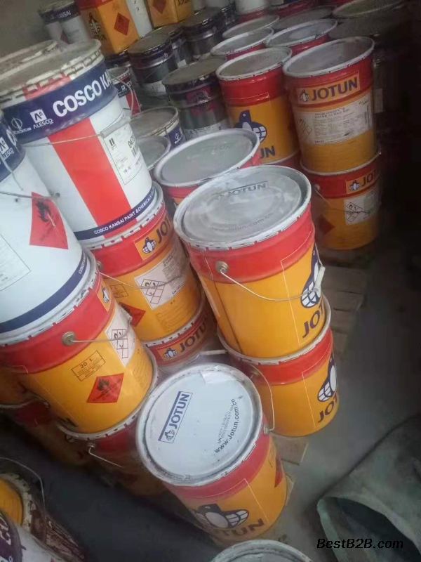 鹽城肯定有回收化工助劑,回收過期油漆