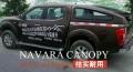 納瓦拉NAVARA皮卡車后箱尾箱蓋貨箱蓋斜蓋改裝